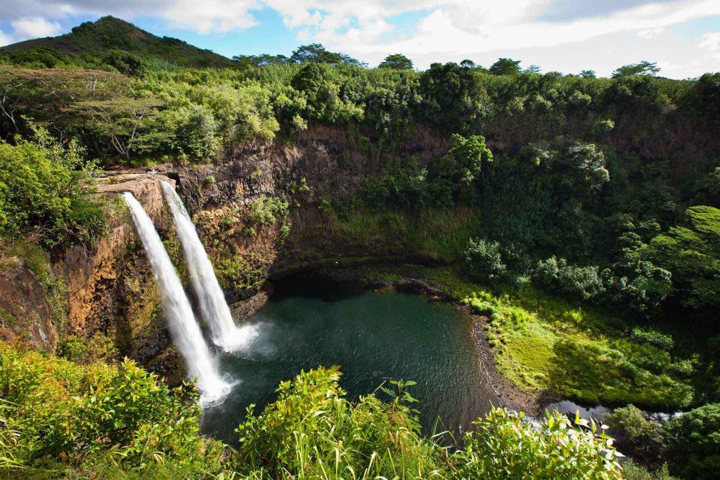 Hawaii Wassefall Tal