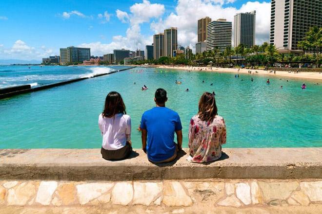 Hotel, Pool, Hawaii
