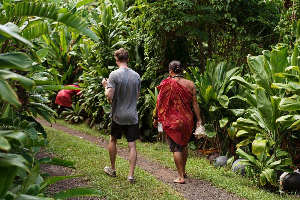 Aloha aus Muscheln