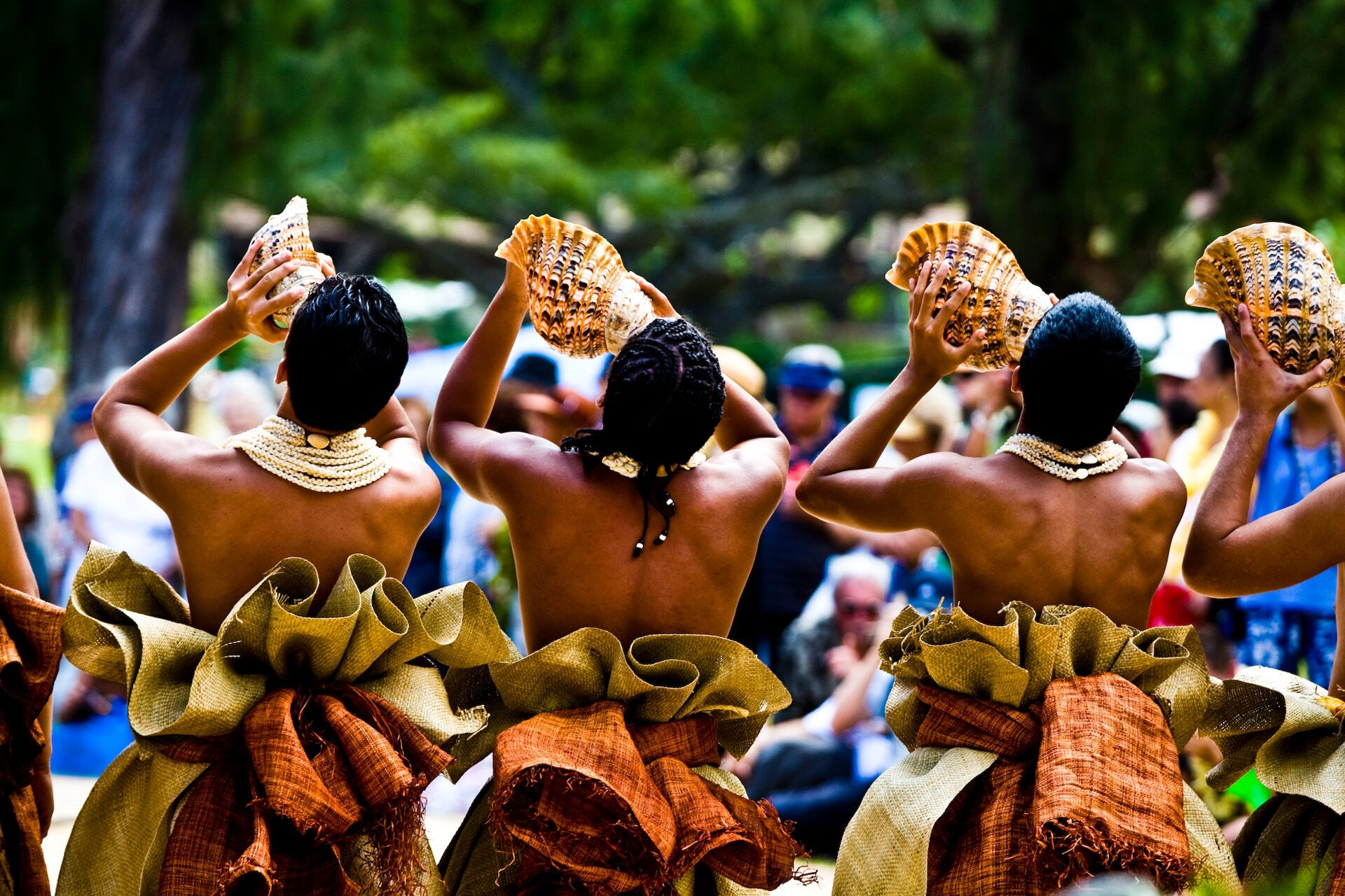 Hawaiianische Traditionen und Braeuche