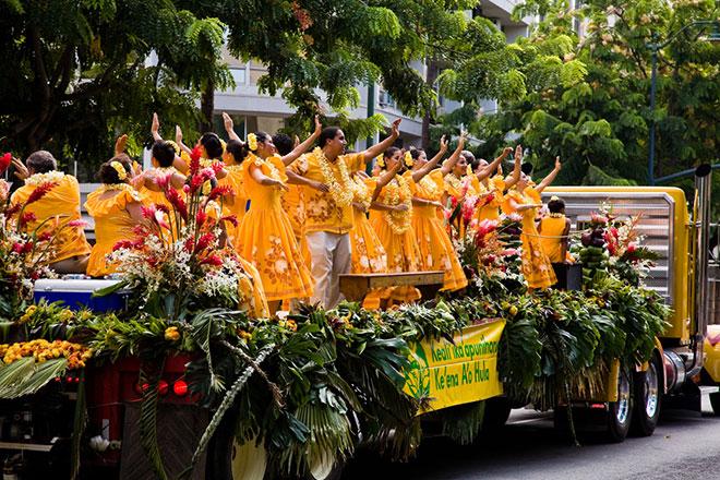 Hawaii Reisezeit Festival