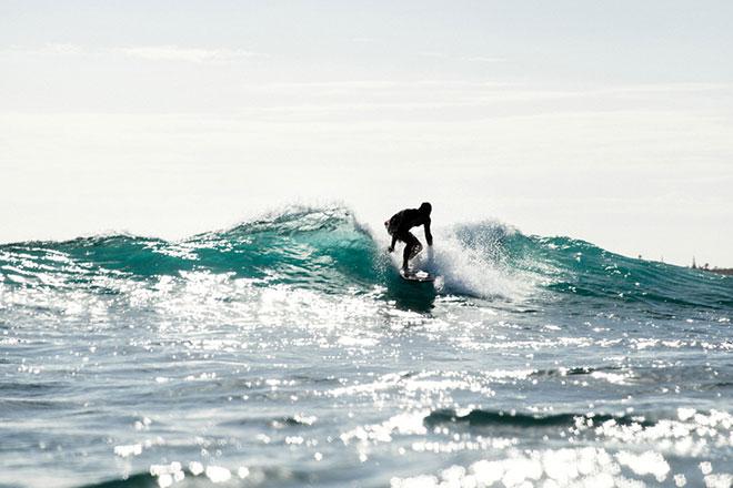 Hawaii Reiszeit Surfer