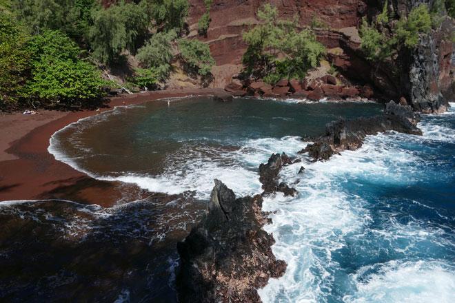 Kaihalulu Beach - Maui