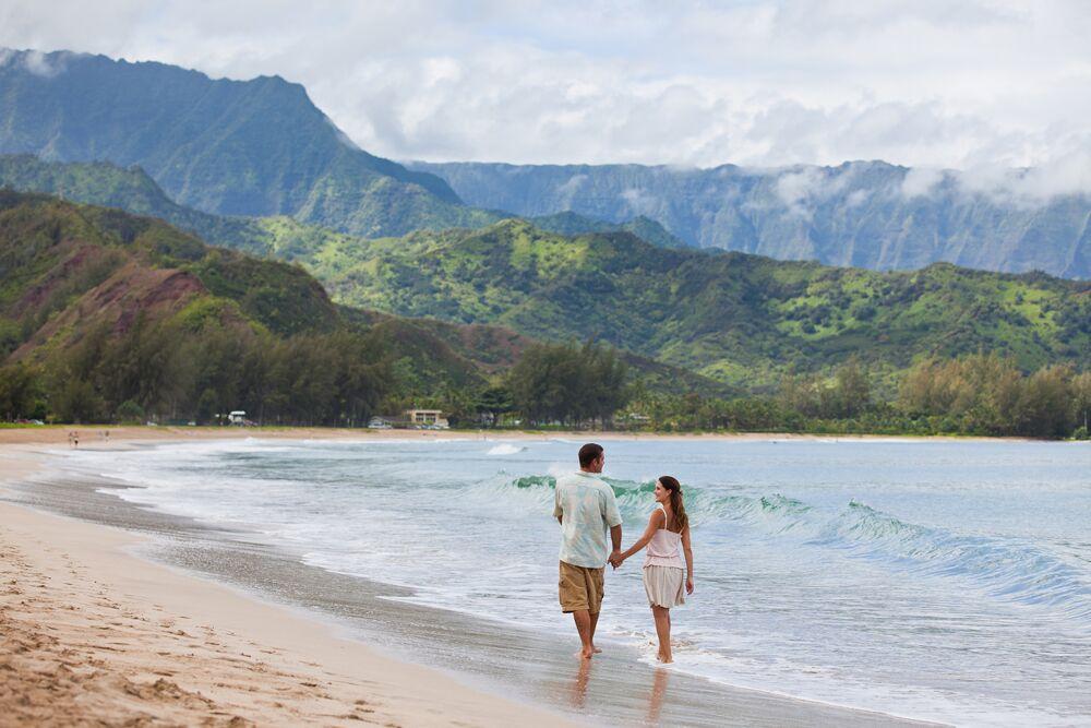 Inseln auf Hawaii